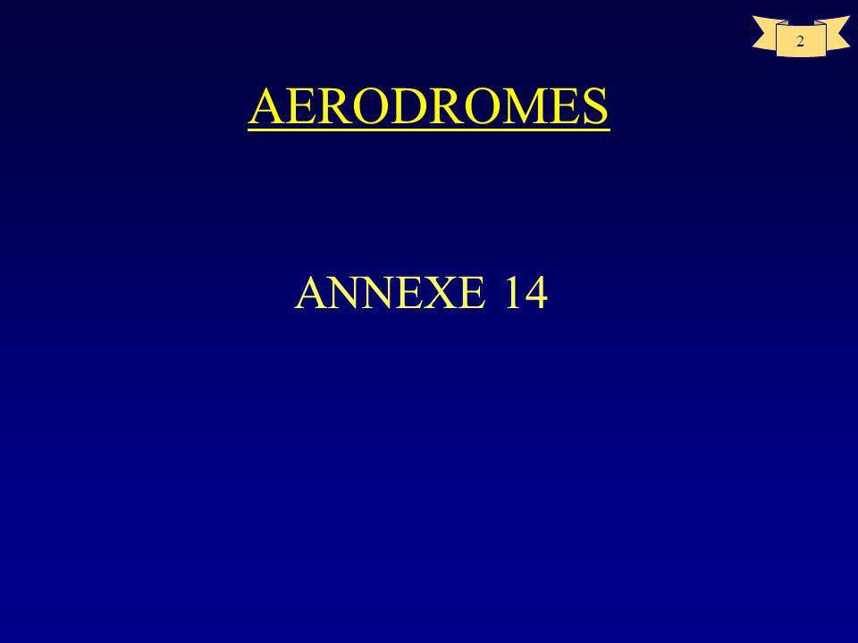 AERODROMES ANNEXE 14