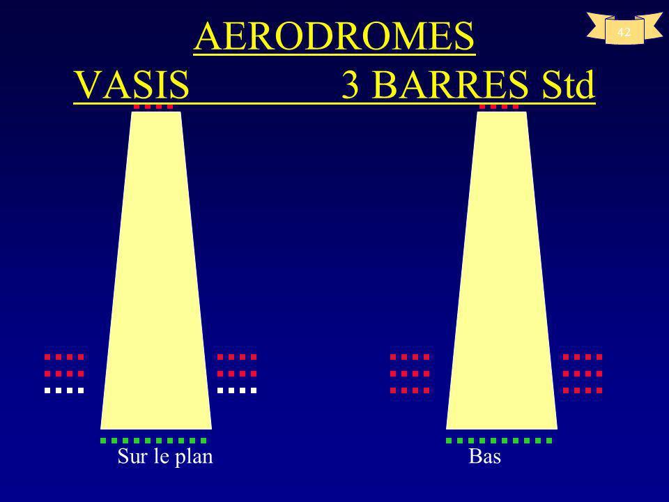 AERODROMES VASIS 3 BARRES Std