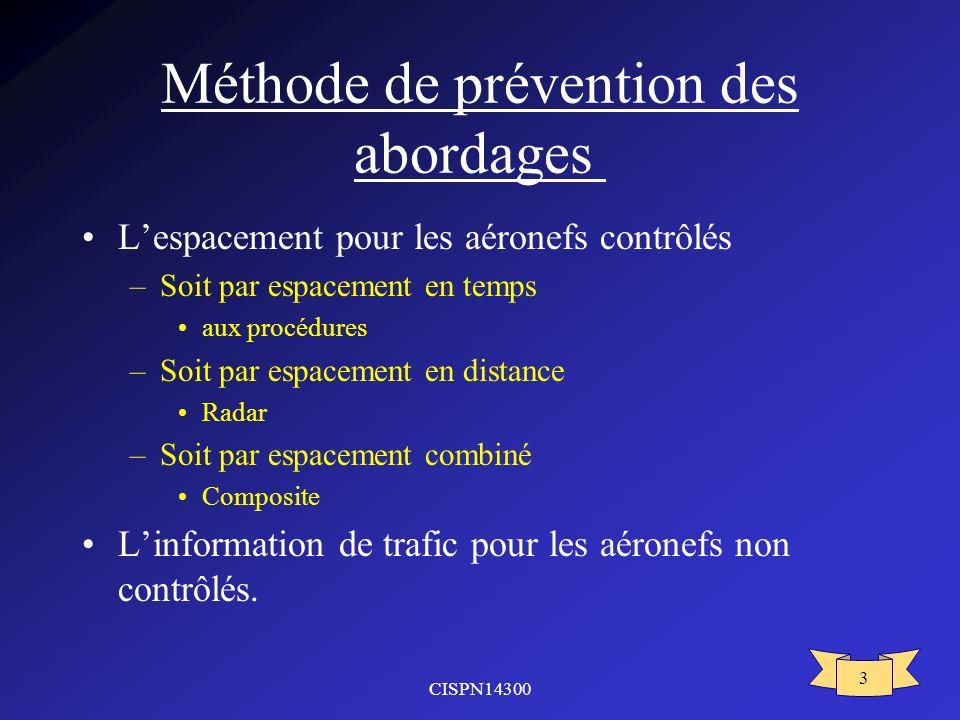 Méthode de prévention des abordages