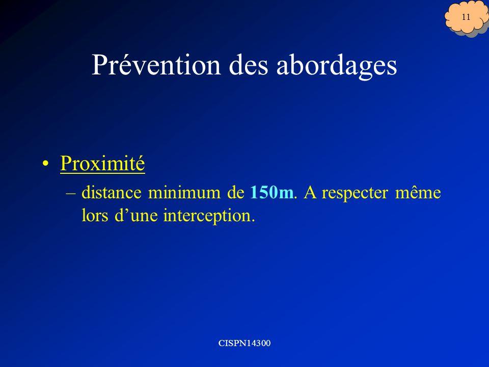 Prévention des abordages