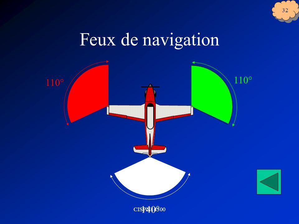 Feux de navigation 110° 140° CISPN14300