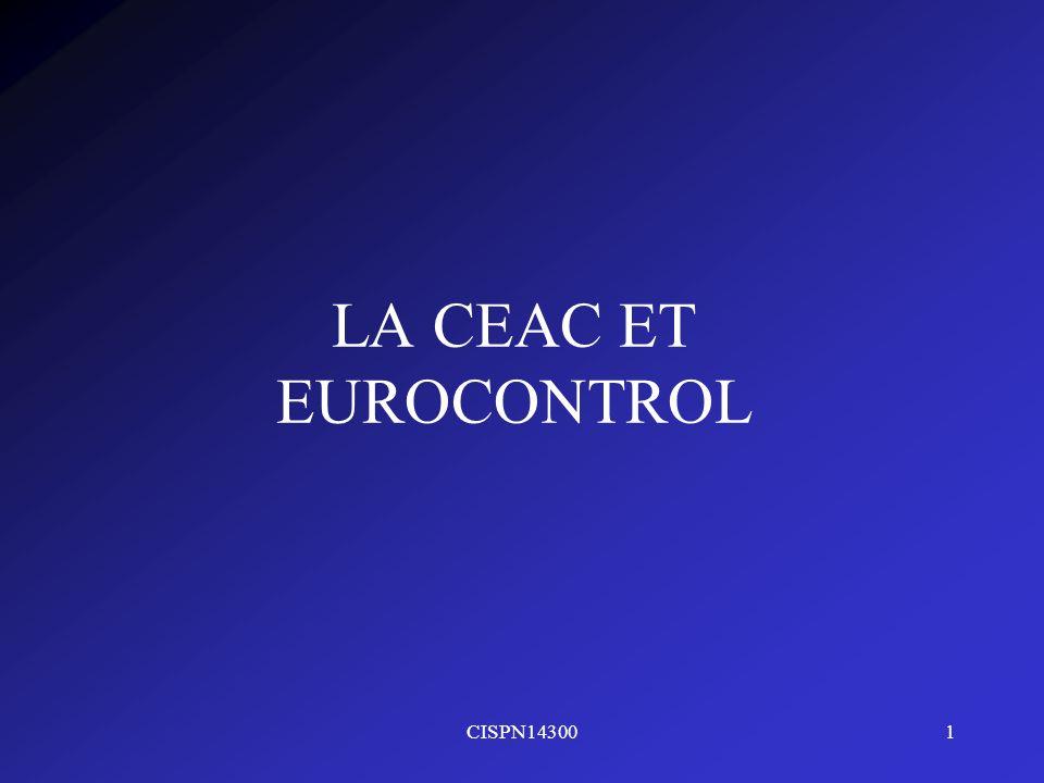 LA CEAC ET EUROCONTROL CISPN14300