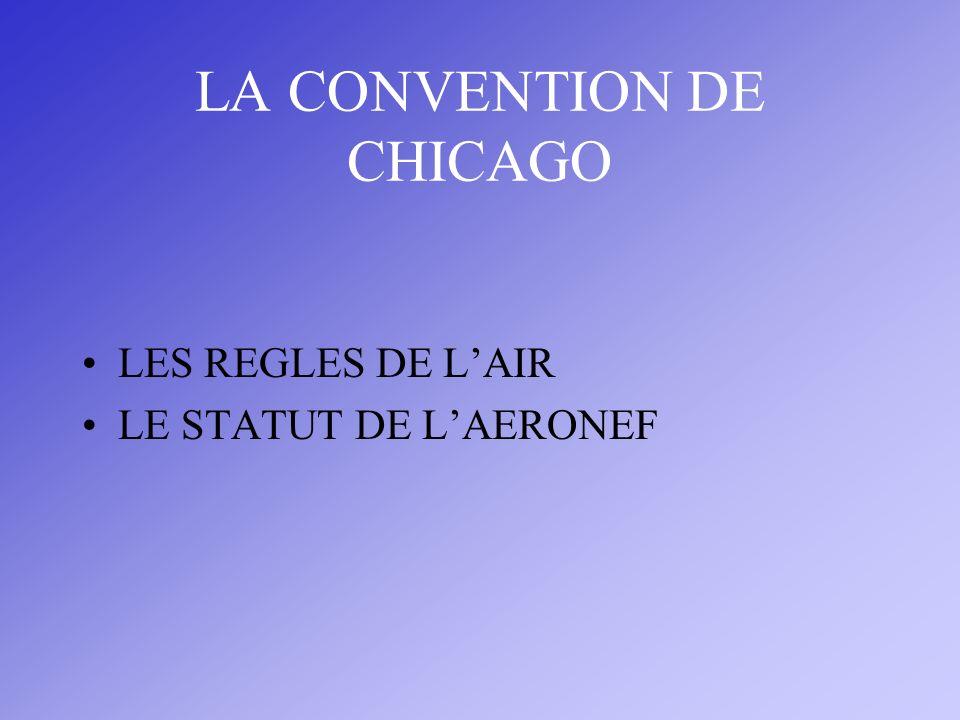 LA CONVENTION DE CHICAGO