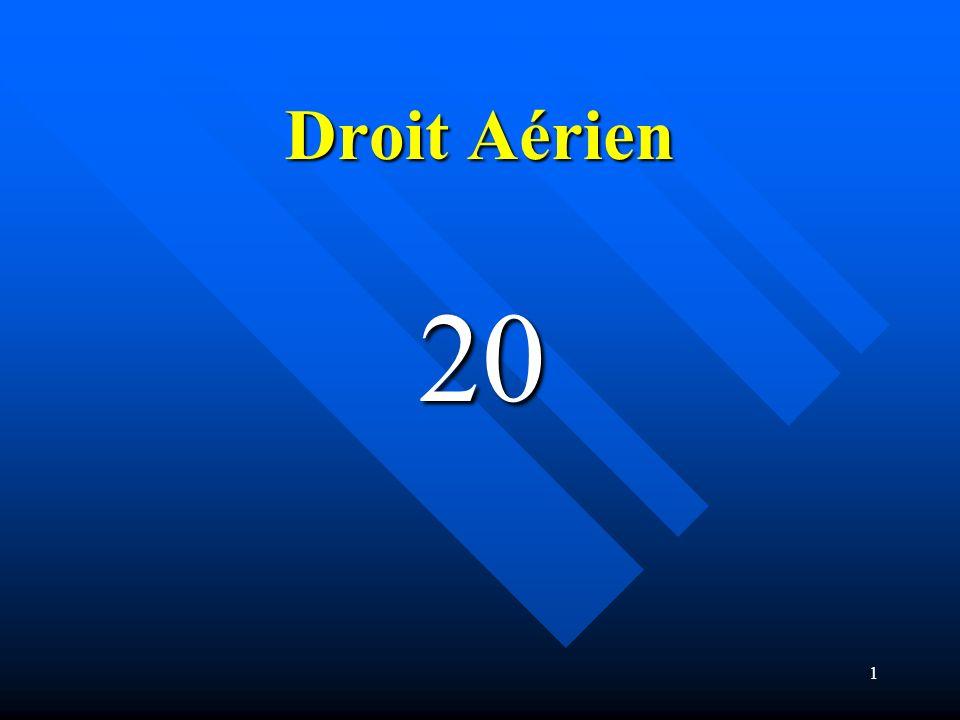 Droit Aérien 20