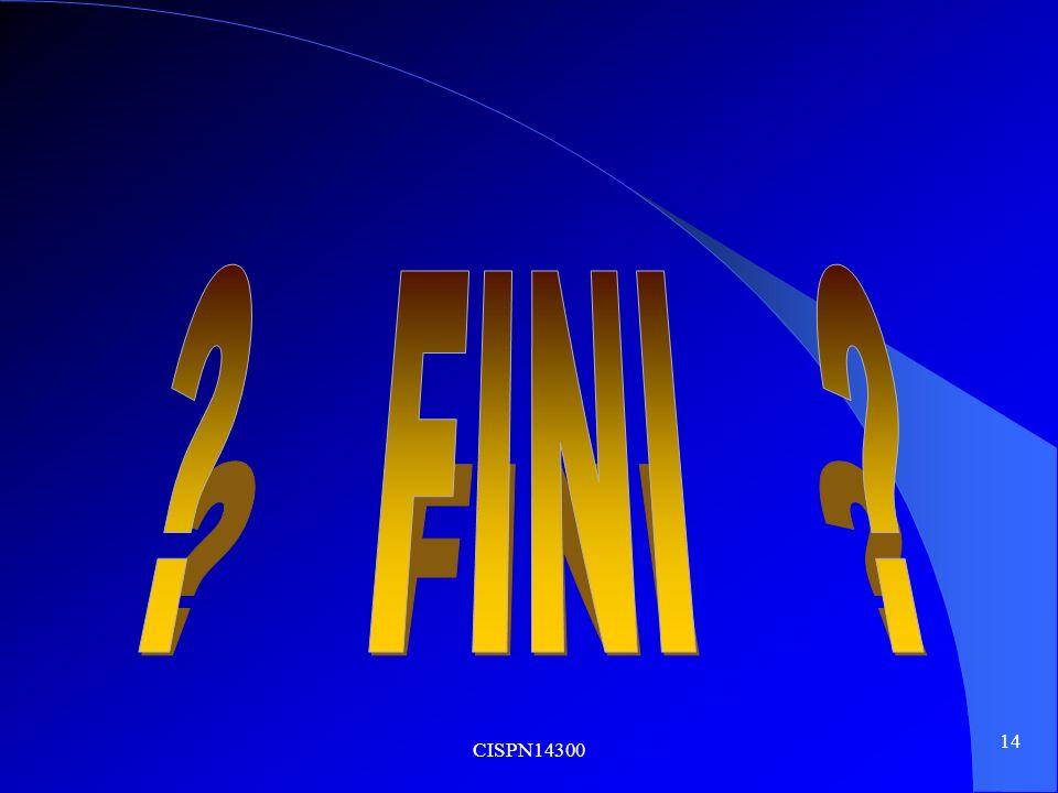FINI CISPN14300