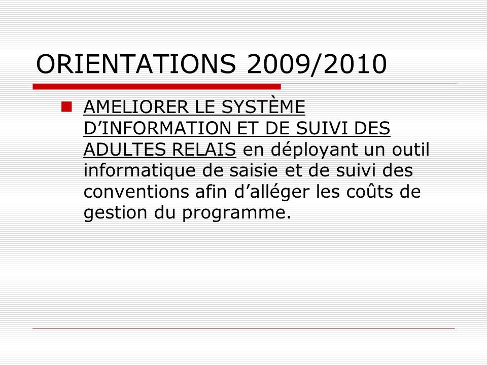 ORIENTATIONS 2009/2010