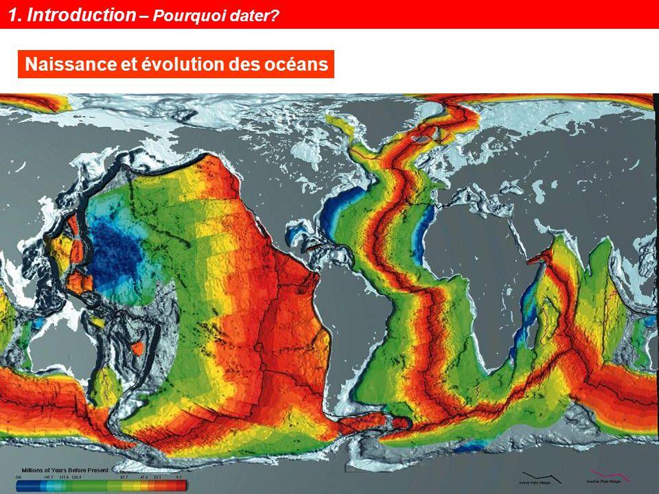 Notions de géochronologie