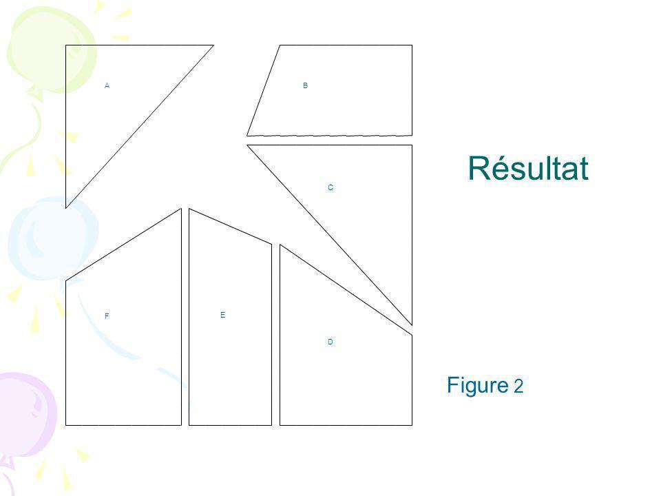 D E C B F A Résultat Figure 2