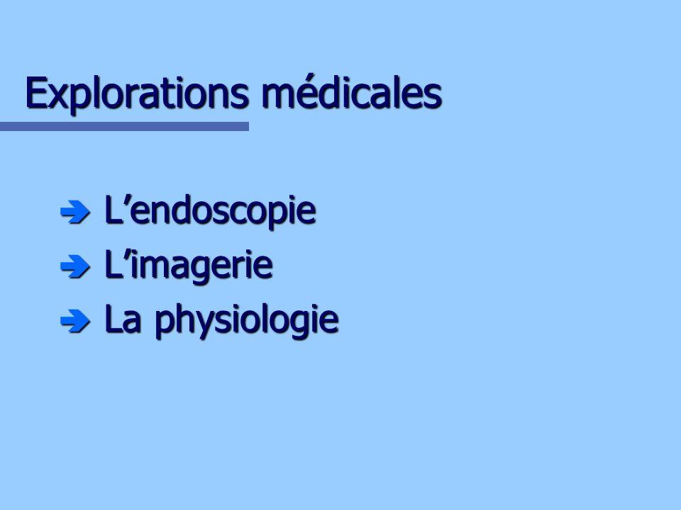 Explorations médicales