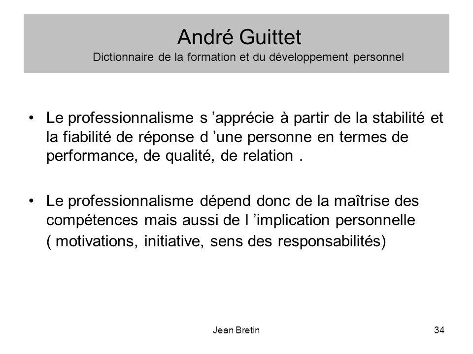 André Guittet Dictionnaire de la formation et du développement personnel