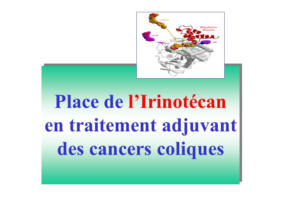 en traitement adjuvant