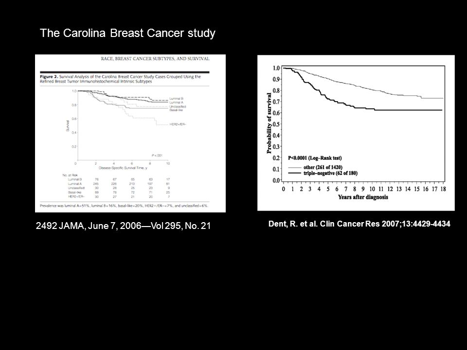 The Carolina Breast Cancer study