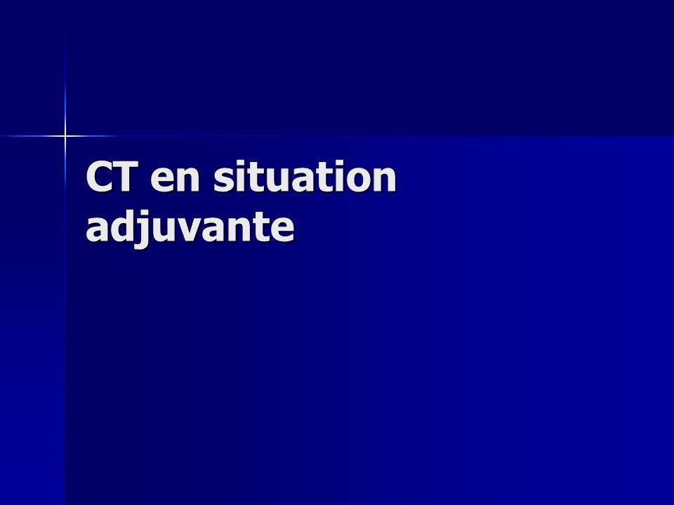 CT en situation adjuvante