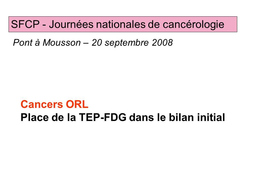 SFCP - Journées nationales de cancérologie