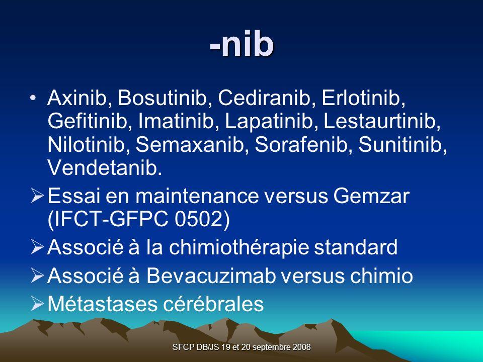 SFCP DB/JS 19 et 20 septembre 2008