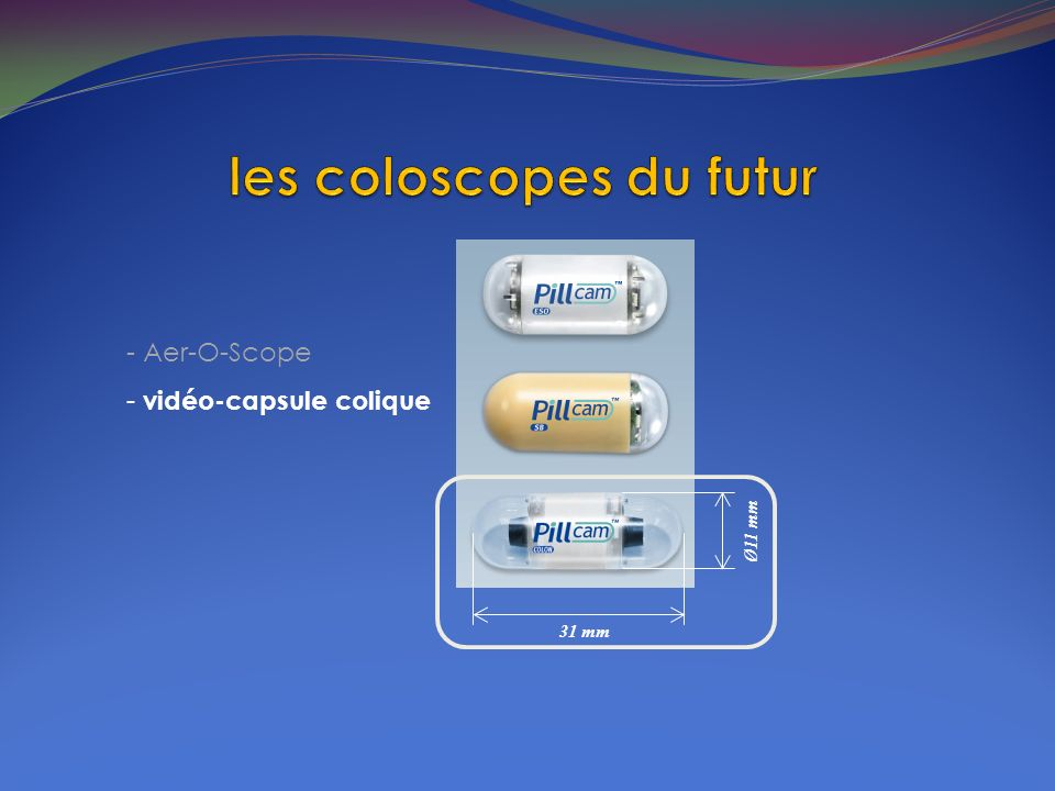 les coloscopes du futur