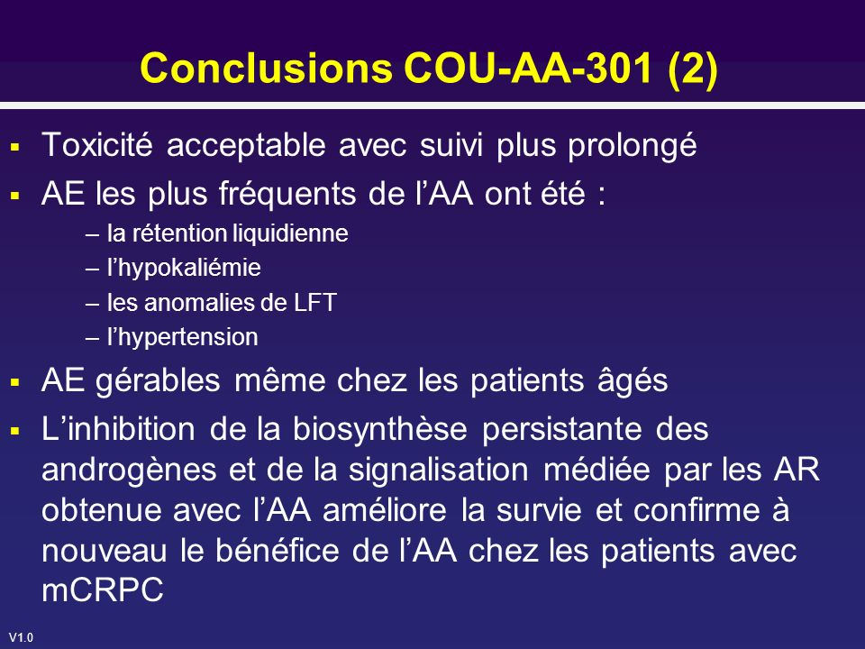 Conclusions COU-AA-301 (2)