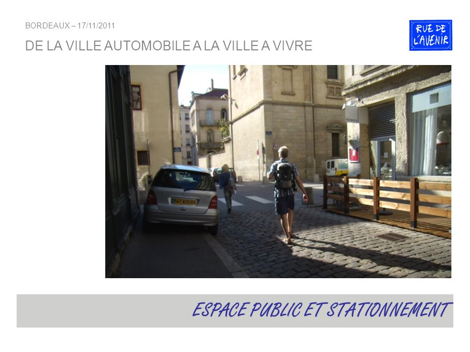 ESPACE PUBLIC ET STATIONNEMENT