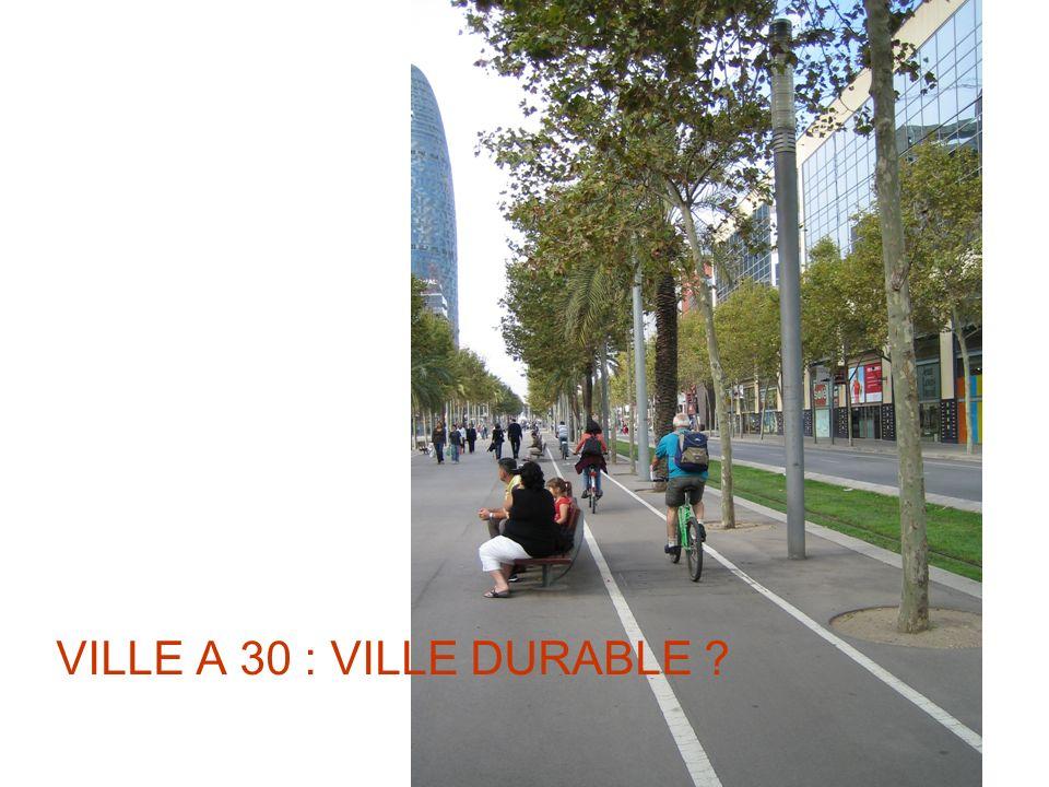 VILLE A 30 : VILLE DURABLE