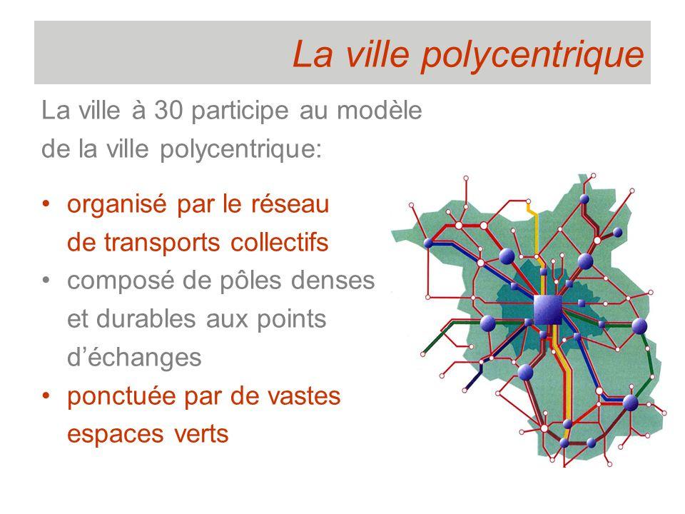 La ville polycentrique