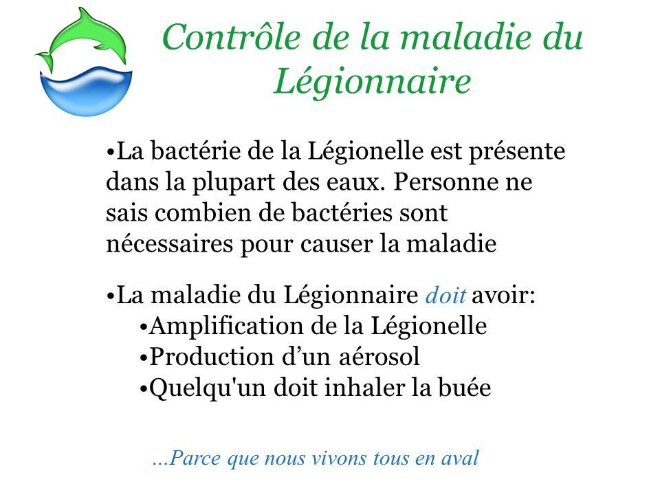 Contrôle de la maladie du Légionnaire