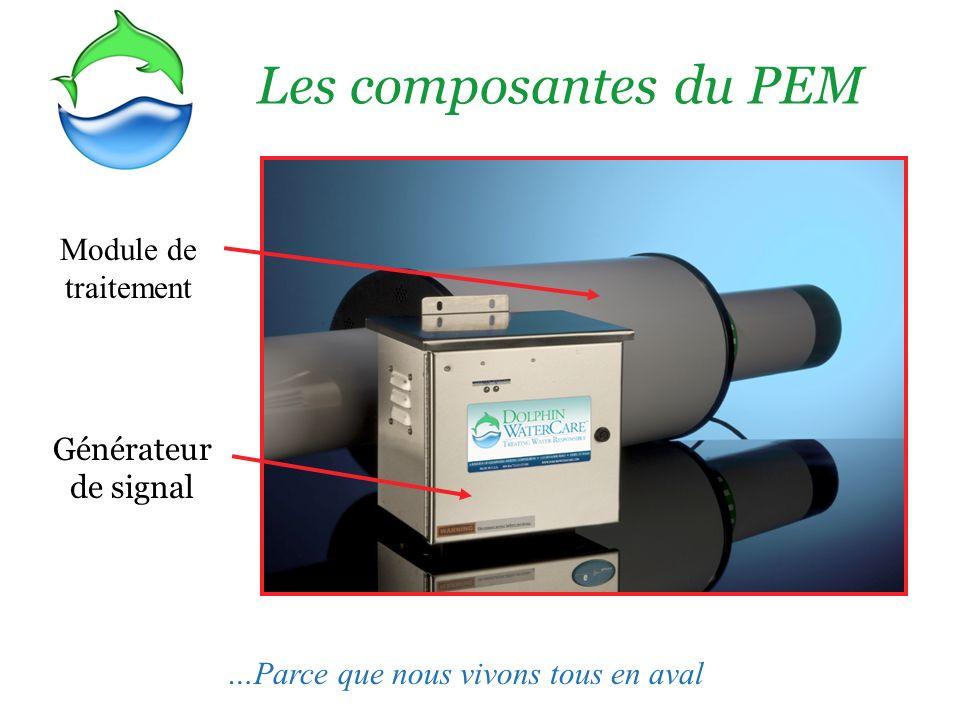 Les composantes du PEM Module de traitement Générateur de signal