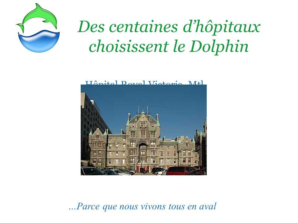 Des centaines d'hôpitaux choisissent le Dolphin