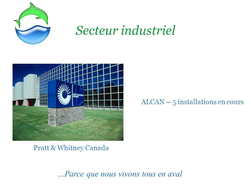 ALCAN – 5 installations en cours