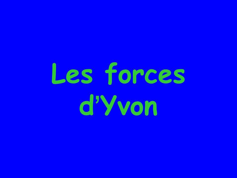 Les forces d'Yvon