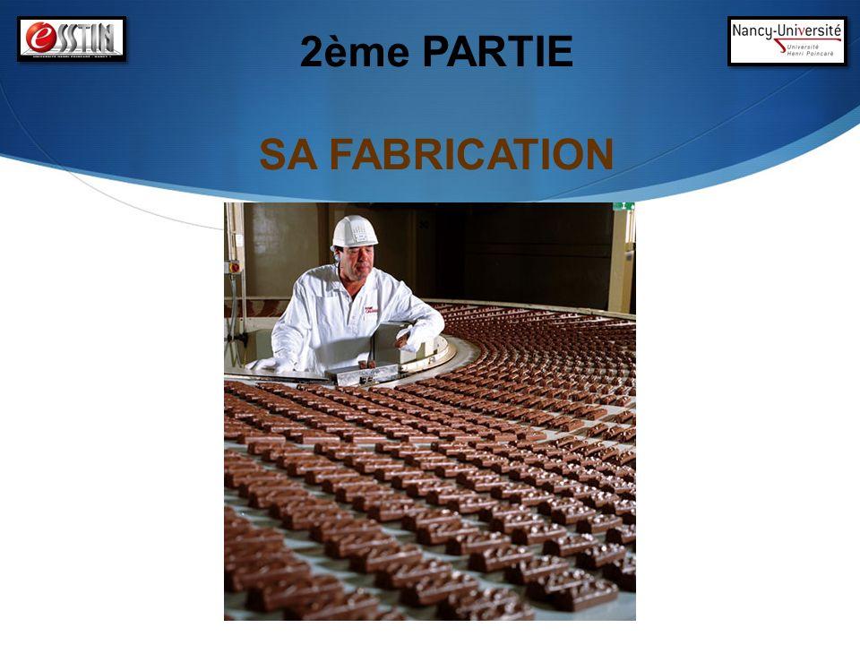 2ème PARTIE SA FABRICATION