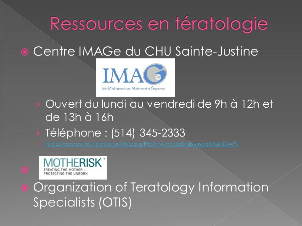 Ressources en tératologie