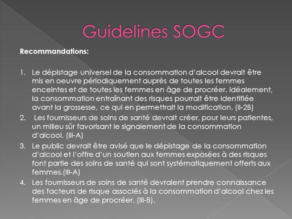 Guidelines SOGC