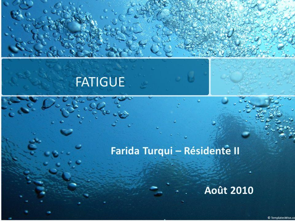 Farida Turqui – Résidente II
