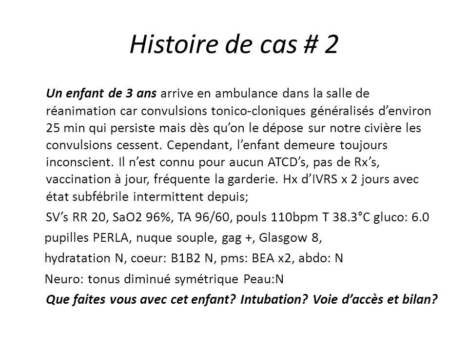 Histoire de cas # 2