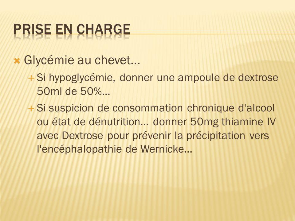 Prise en charge Glycémie au chevet…