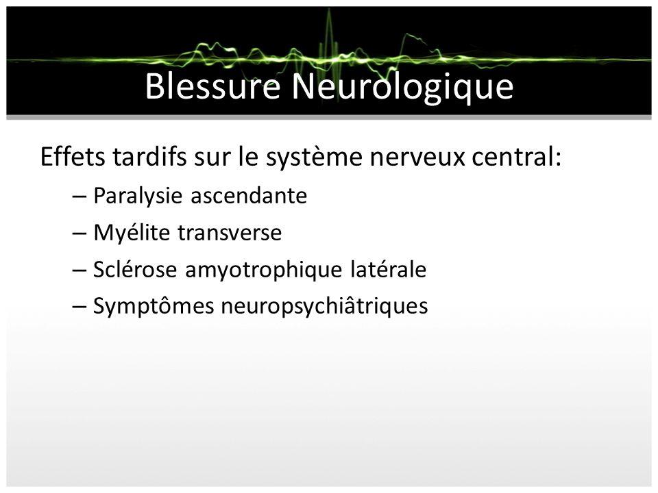 Blessure Neurologique