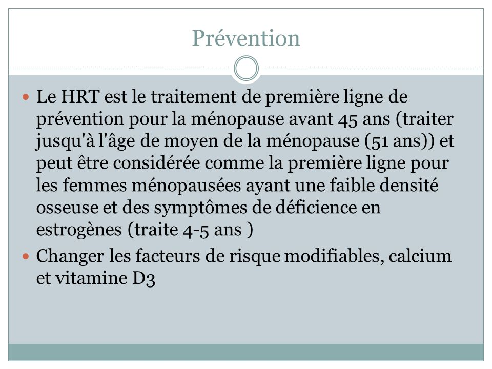Prévention