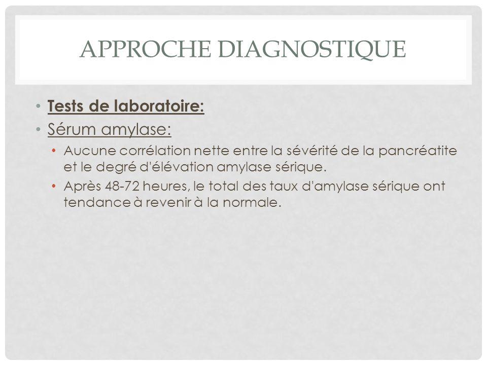 Approche diagnostique