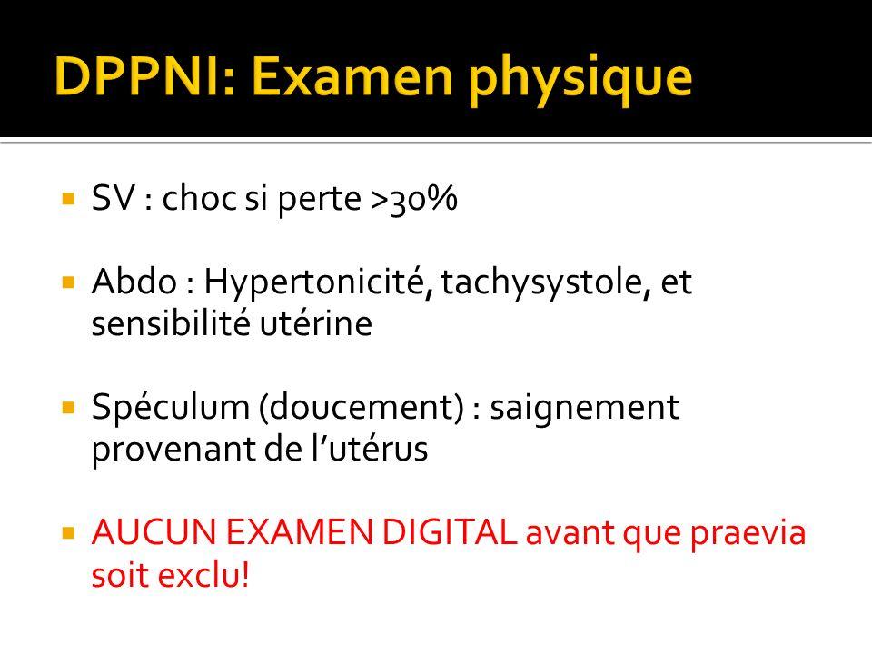 DPPNI: Examen physique