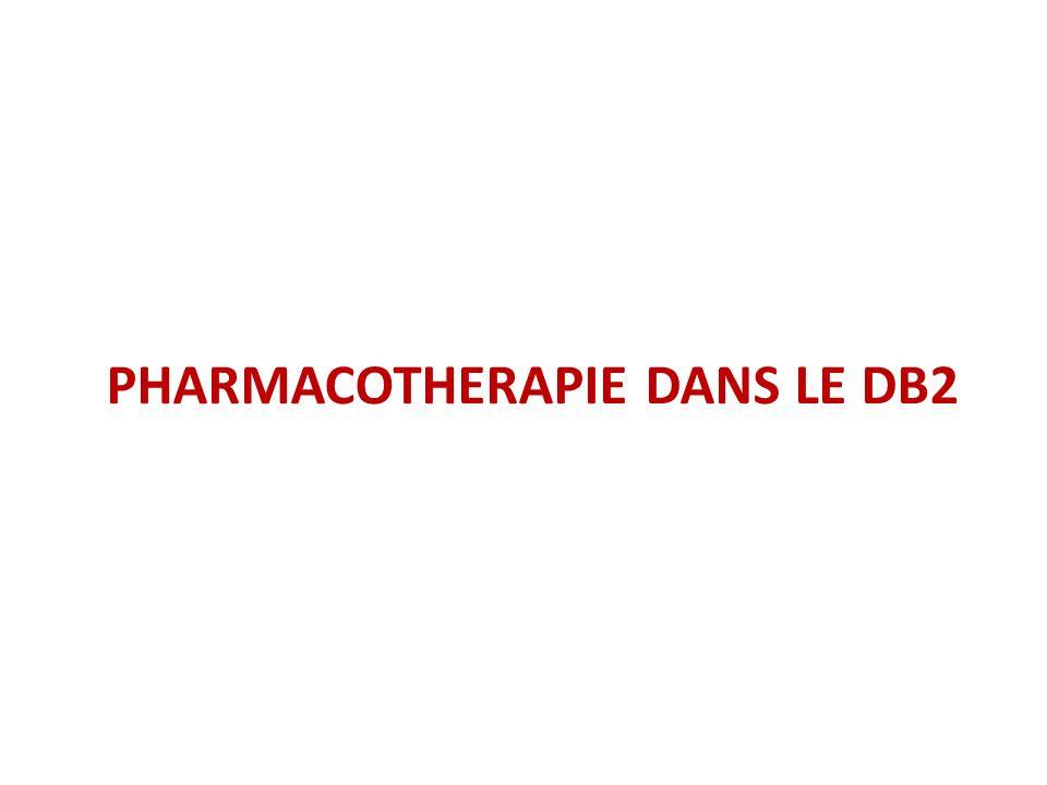 PHARMACOTHERAPIE DANS LE DB2
