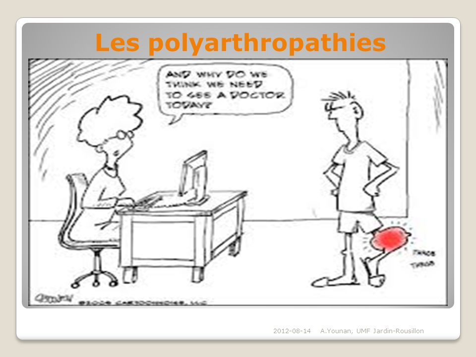 Les polyarthropathies