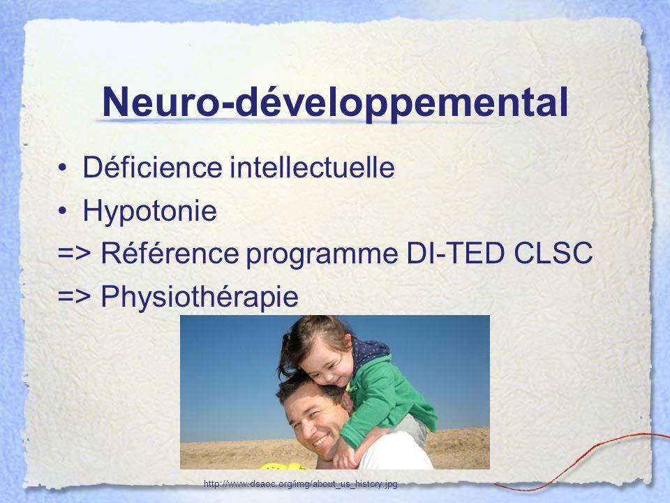 Neuro-développemental