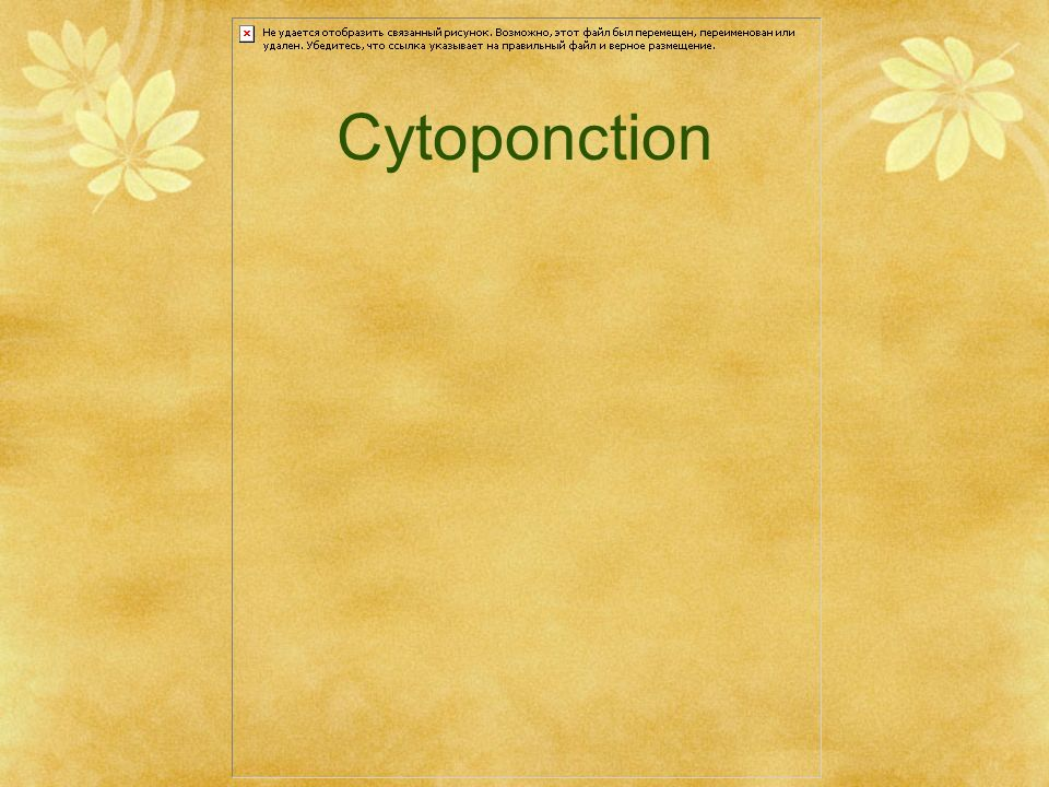 Cytoponction