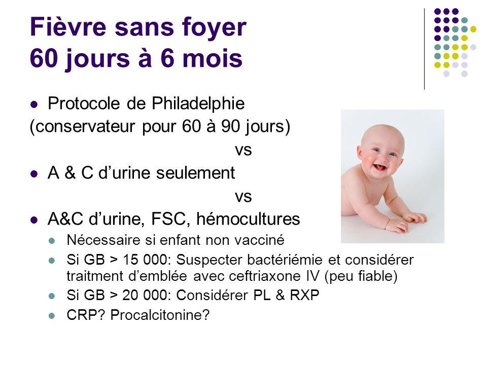 Fièvre sans foyer 60 jours à 6 mois