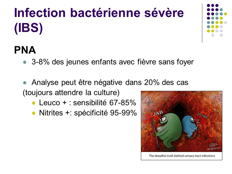 Infection bactérienne sévère (IBS)