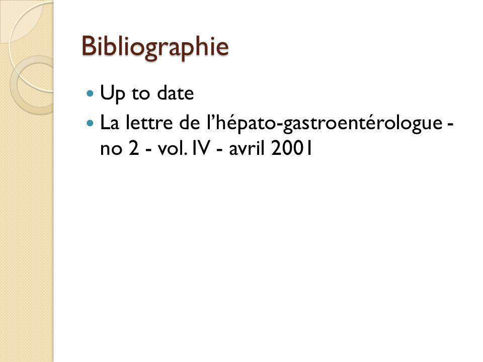 Bibliographie Up to date