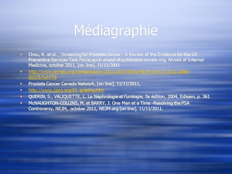 Médiagraphie