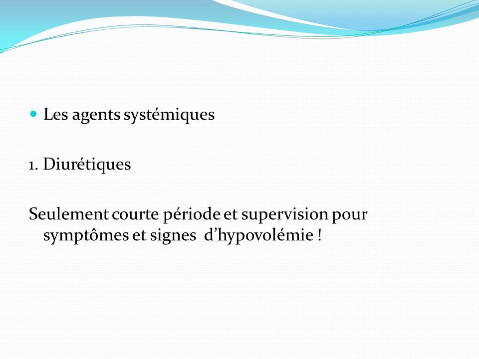Les agents systémiques