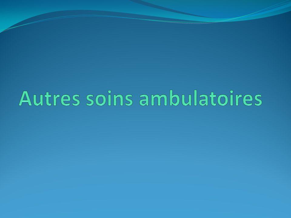 Autres soins ambulatoires