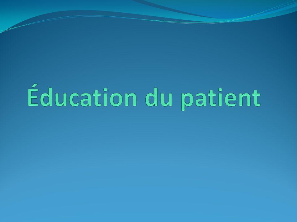 Éducation du patient